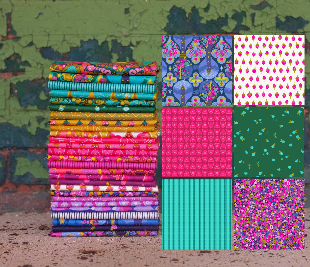 road trip fabrics by Alison Glass for Andover