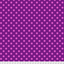 Tula pink Pompom polka dots fabric, sold by Color Girl quilts
