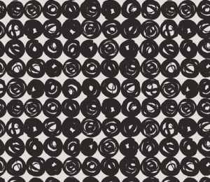 black and white text print fabric for sewing sold by Color Girl Quilts
