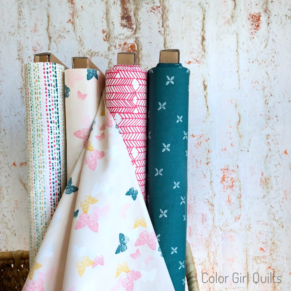 signature fabrics by Sharon Holland, Art Gallery Fabrics. sold by Color Girl quilts