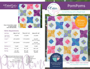 PomPoms quilt pattern by Color Girl Quilts