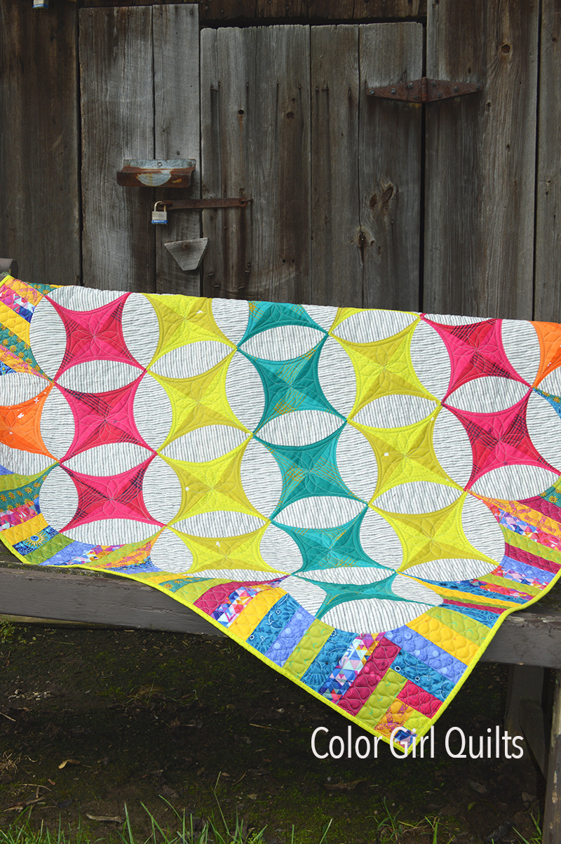 Radiance Quilt by Color girl Quilts Sharon McConnell