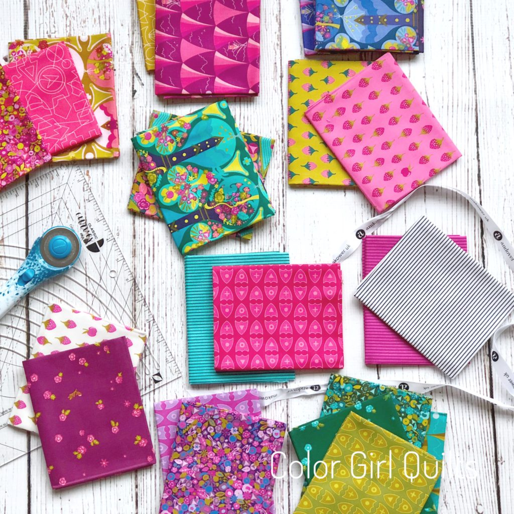 Road Trip fabrics by Alison Glass, sold by Color Girl Quilts