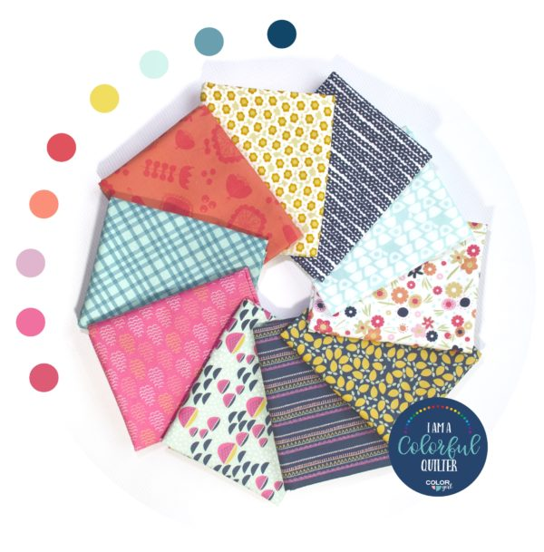 Sweet Bee Fabrics bundle sold by Color girl Quilts