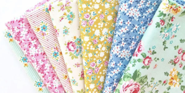 Apple butter fabric by Tilda Fabrics, sold by Color girl Quilts
