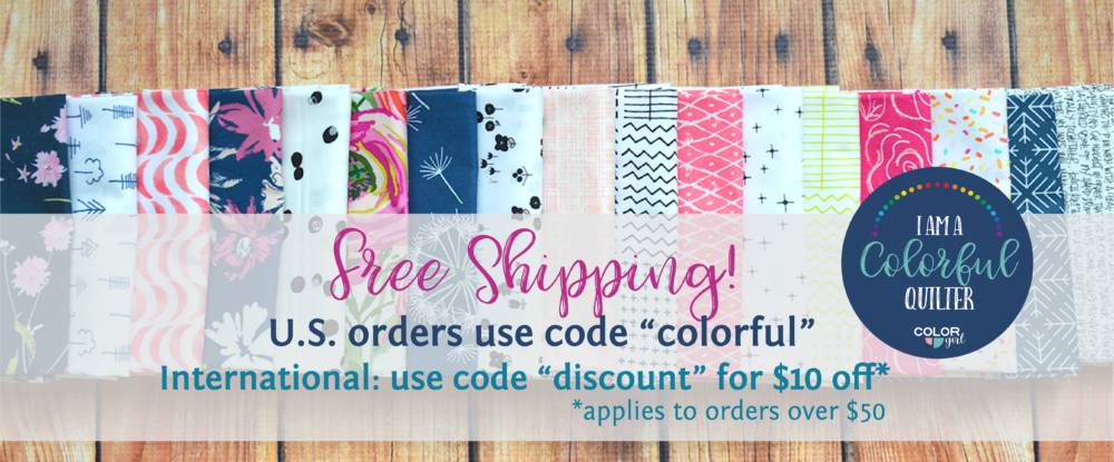 free shipping quilting and sewing fabric and supplies
