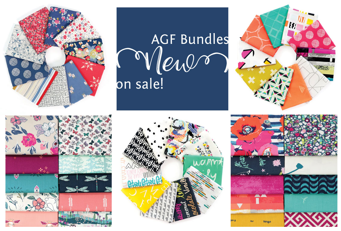 Art Gallery Fabrics curated bundles sold by Color Girl Quilts