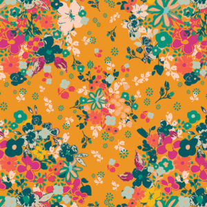 Pat Bravo floral print fabric by Art Gallery Fabrics sold by Color Girl Quilts