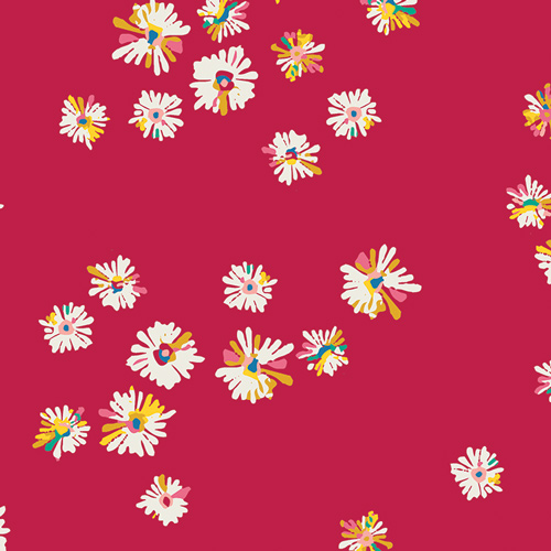 Daisy print by Art Gallery Fabrics sold by Color Girl Quilts