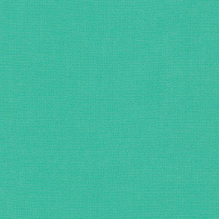 Kona cotton solid fabric cypress sold by Color Girl Quilts