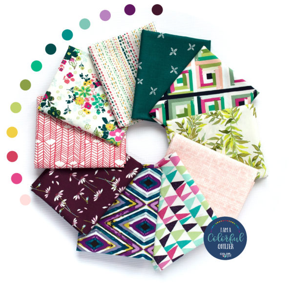 Art gallery Fabrics curated fabric bundle sold by Color Girl Quilts