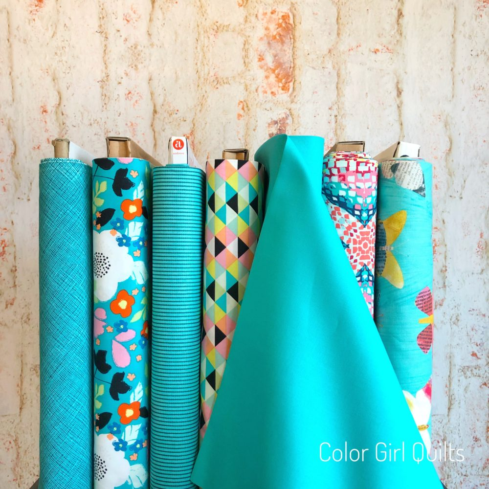 Kona Splash fabrics sold by Color Girl Quilts