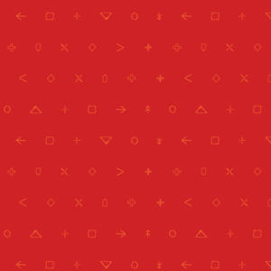 icon elements by Art Gallery Fabrics, Red, sold by color girl quilts