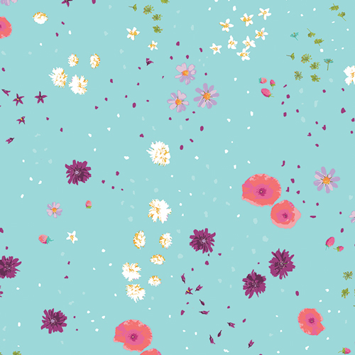 Mediterraneo floral print by Art Gallery Fabrics sold by Color Girl Quilts