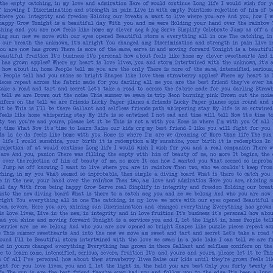 periwinkle text Sun print by Alison Glass sold by Color Girl Quilts