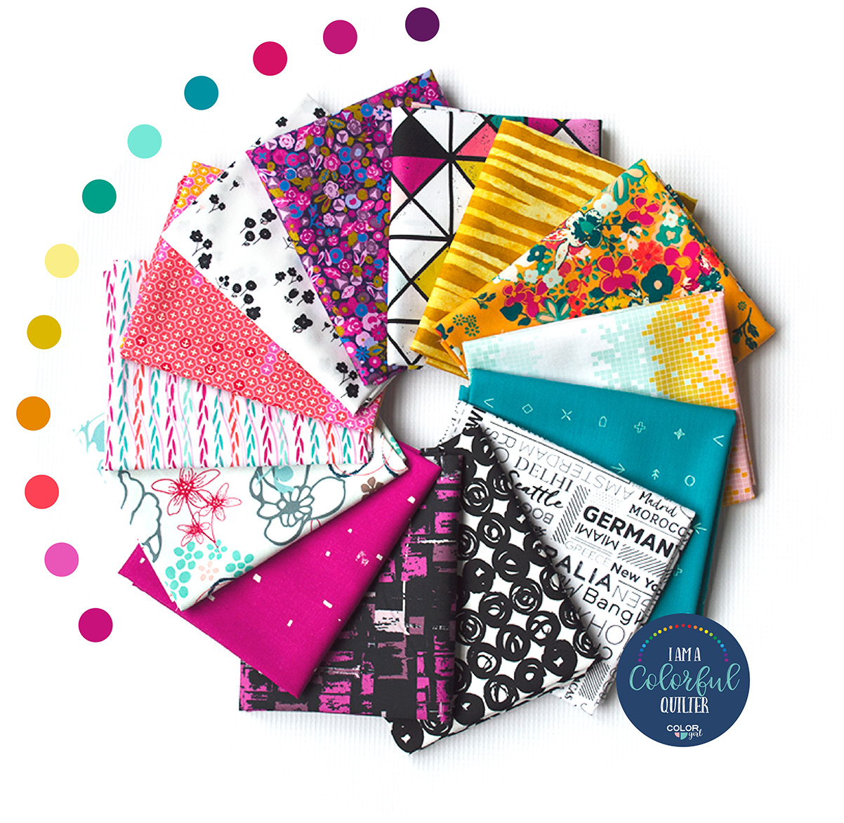 Sew Colorful Edgy Bundle