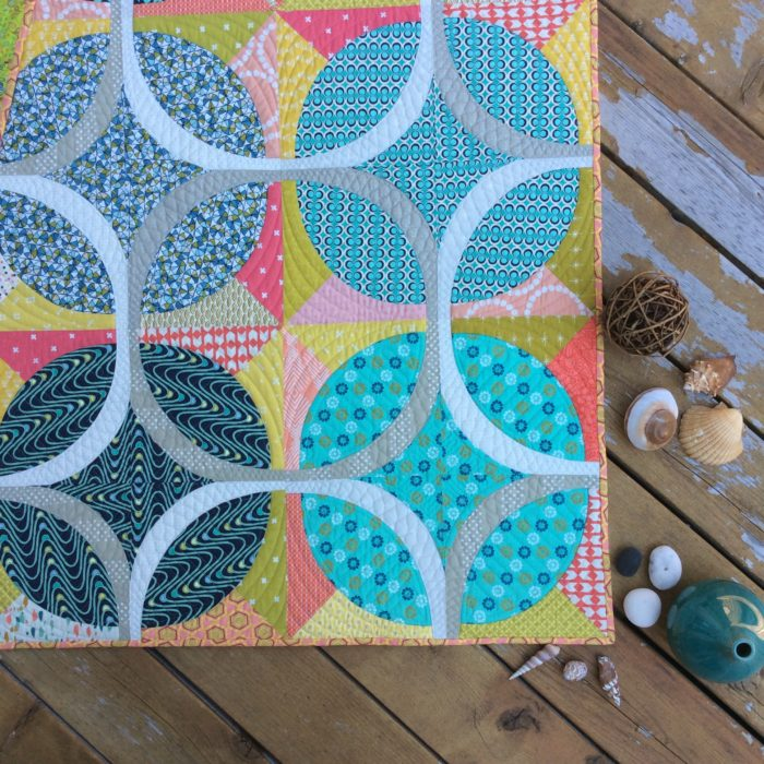 Ring Around quilt by Color Girl Quilts Sharon McConnell