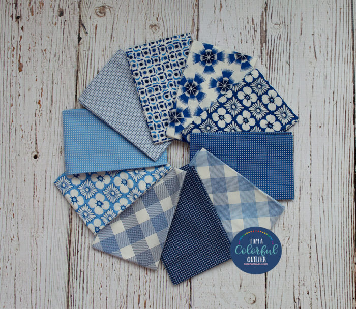 Quilting fabric bundle giveaway by Color Girl Quilts