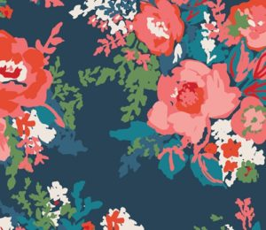 floral fabric by Sharon Holland sold by Color Girl Quilts