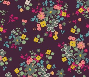 floral fabric by Pat Bravo sold by Color girl Quilts