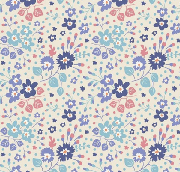 Tilda PLum Garden fabric sold by Color Girl Quilts
