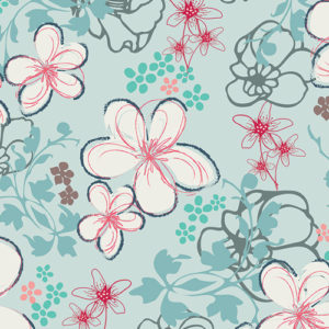 Pat Bravo floral Nouvelle fabric sold by Color Girl Quilts