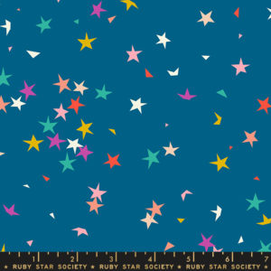 starfetti blue raspberry by Rashida Coleman Hale sold by Color girl Quilts