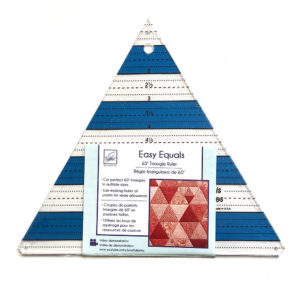 60 triangle ruler sold by Color Girl Quilts
