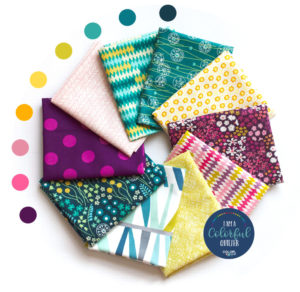 curated fabric bundle for quilters sold by Color Girl Quilts