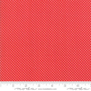 red pin dot fabric by Bonnie and Camille sold by Color Girl quilts