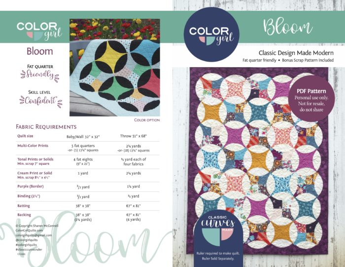 pattern by Color Girl Quilts