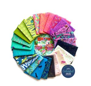 Tula Pink Hand Made fabric bundles sold by Color Girl Quilts