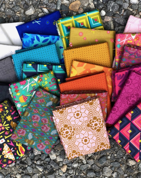 Handicraft fabrics by Alison Glass sold by Color Girl Quilts