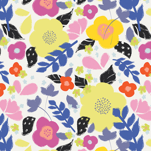 floral art gallery fabrics sold by Color Girl Quilts