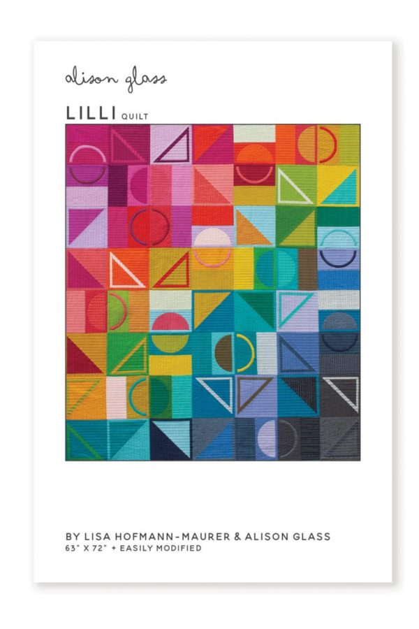 Lilli quilt by Alison Glass and Sew what you love sold by Color Girl Quilts