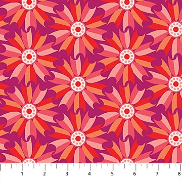 Midsommer fabric by Pippa shaw for Figo fabrics sold by Color Girl Quilts