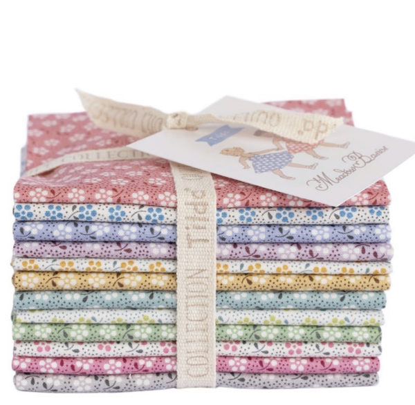 Tilda Meadow basic fat eight fabric bundle sold by Color Girl Quilts