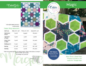 Magic quilt pattern by Color Girl Quilts