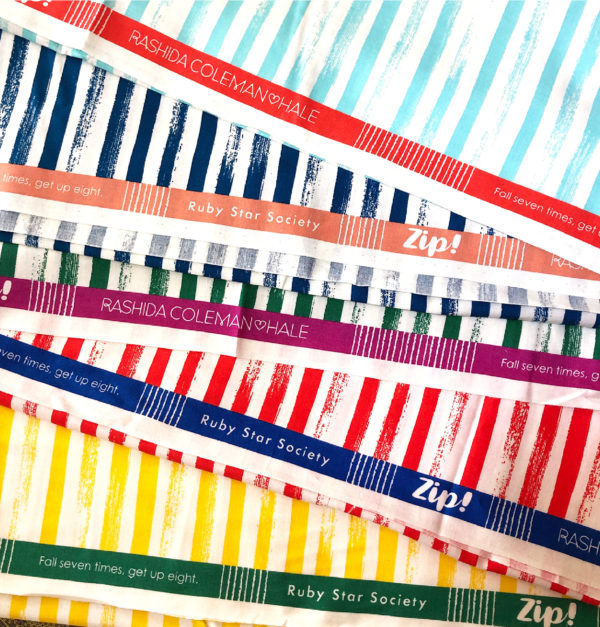 zip stripes by Moda Fabric sold by Color girl Quilts