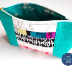Scrappy Zipper Pouch, a tutorial