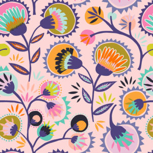 Oh Meow fabric by Art Gallery Fabrics Jessica Swift sold by Color Girl Quilts