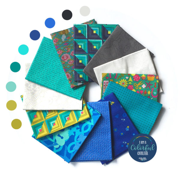 Alison Glass fabrics fat quarter bundle sold by Color Girl Quilts