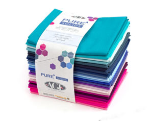 Art Gallery fabrics pure solids fabric bundle sold by Color Girl quilts