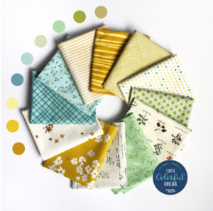Antique shop style fabric bundle sold by Color Girl Quilts