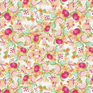 Wild bloom floral fabric by Bari J sold by Color Girl Quilts