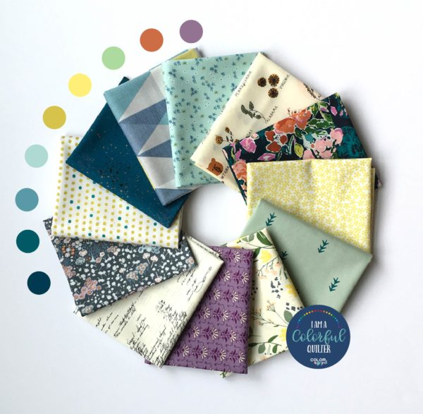 fat quarter bundle quilters fabric florals sold by Color Girl Quilts