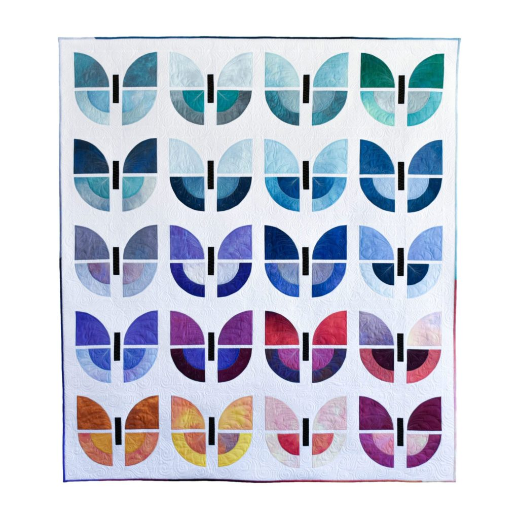 Butterfly Bouquet quilt pattern by Simone quilts