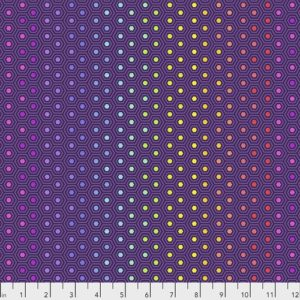 Tula Pink true colors hex print sold by Color Girl Quilts