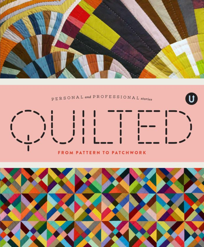 Quilted book by Uppercase Magazine