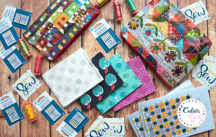 free gift with purchase from Color Girl Quilts
